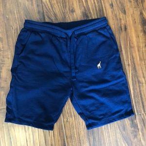 Lrg Shorts - LRG Navy Blue 47 Sweat Shorts